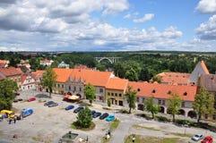 bechyne πόλη Στοκ Φωτογραφία