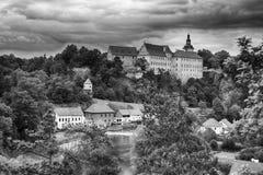 Bechyne castle, Czech Republic. Royalty Free Stock Images