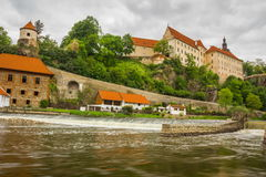 Bechyne castle, Czech Republic. royalty free stock photography