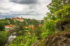 Bechyne castle, Czech Republic. stock photo