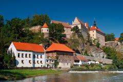 Bechyne, cidade checa do todl, castelo e castelo no Bohemian sul Imagem de Stock Royalty Free