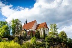 Bechyne - old city in South Bohemian region, Czech republic.  royalty free stock photos