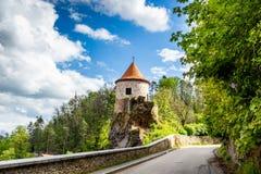 Bechyne - old city in South Bohemian region, Czech republic.  royalty free stock photo