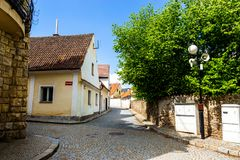 Bechyne - old city in South Bohemian region, Czech republic.  stock photography