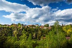 Bechyne - old city in South Bohemian region, Czech republic.  stock photos