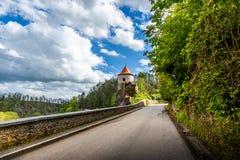 Bechyne - old city in South Bohemian region, Czech republic.  stock image