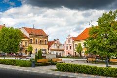 Bechyne - old city in South Bohemian region, Czech republic.  royalty free stock image