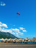 Becici beach, Montenegro Stock Photography
