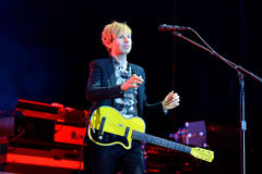 Beck (legendary musician, singer and songwriter) performance at Dcode Festival Stock Photos