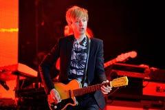 Beck (legendary musician, singer and songwriter) performance at Dcode Festival Stock Image