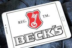 Beck`s beer logo Stock Image