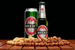 Beck's beer Stock Photo