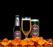 Beck's beer Stock Photography