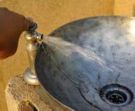 Beckenwasser Lizenzfreies Stockfoto