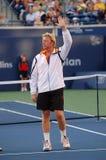 Becker Boris bij Rogers Kop 2008 (11) Royalty-vrije Stock Foto's
