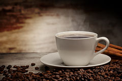 Beckground de café Images libres de droits