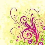 Beckground floreale Illustrazione di Stock