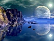 beckham księżyc s Zdjęcie Stock