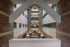Beckman-Institutlobby Stockfotos