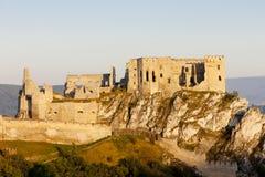Beckov城堡 免版税库存图片
