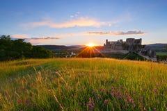 beckov κάστρο Σλοβακία στοκ εικόνες με δικαίωμα ελεύθερης χρήσης