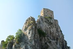Beckov Castle royalty free stock images