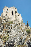 Beckov castle ruins Royalty Free Stock Photography