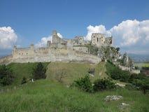 Beckov castle ruins, Slovakia Royalty Free Stock Photos