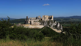 Beckov castle, Slovakia Stock Photo