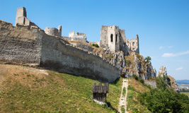 Beckov castle - Slovakia Royalty Free Stock Photos