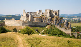 Beckov castle - Slovakia Royalty Free Stock Images