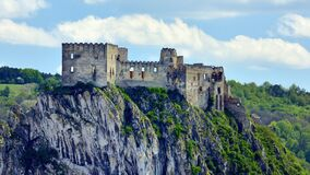 Beckov Castle, Trencin Region, Slovakia
