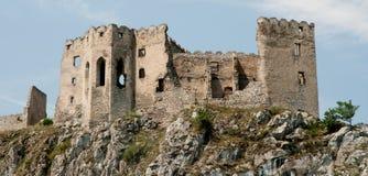 Beckov ruins Royalty Free Stock Photos