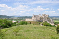 Beckov ruins, Slovakia Royalty Free Stock Photography