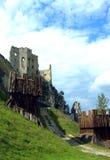 Beckov Schloss Stockfoto