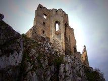 beckov zamku Zdjęcia Royalty Free