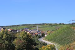 Beckstein in Deutschland Lizenzfreies Stockfoto