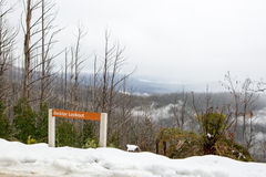Beckter Lookout at Mt Margaret Stock Photos