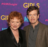 Becky Ann Baker and Dylan Baker. Actors Becky Ann Baker and Dylan Baker arrive on the red carpet for the New York premiere of the third season of the hit HBO stock image