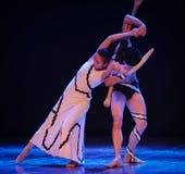 Become ha impigliato nell'identità di amore- del dramma di ballo di mistero-tango Fotografie Stock Libere da Diritti