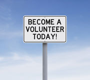 Become A Volunteer Stock Photos