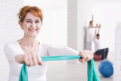 Becoming stronger every day Stock Photo