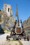Becov castle - Slovakia royalty free stock photos