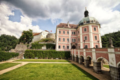 Becov-nad-Teplou castle Royalty Free Stock Image