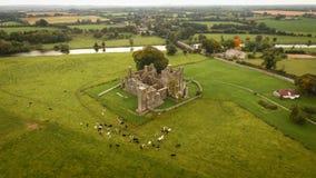 Bective-Abtei und Fluss Boyne ordnung Grafschaft Meath irland Stockfotos