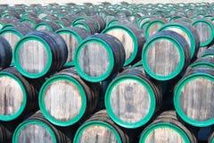 beczek Madeira wino magazynu wino Fotografia Stock