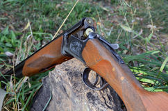 Beczkująca łowiecka broń Fotografia Stock