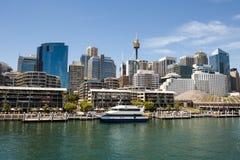 Bedårande hamn, Sydney Royaltyfri Fotografi