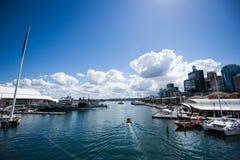 Bedårande hamn Sydney Royaltyfria Foton