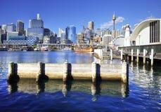 Bedårande hamn Sydney Australien Royaltyfria Foton